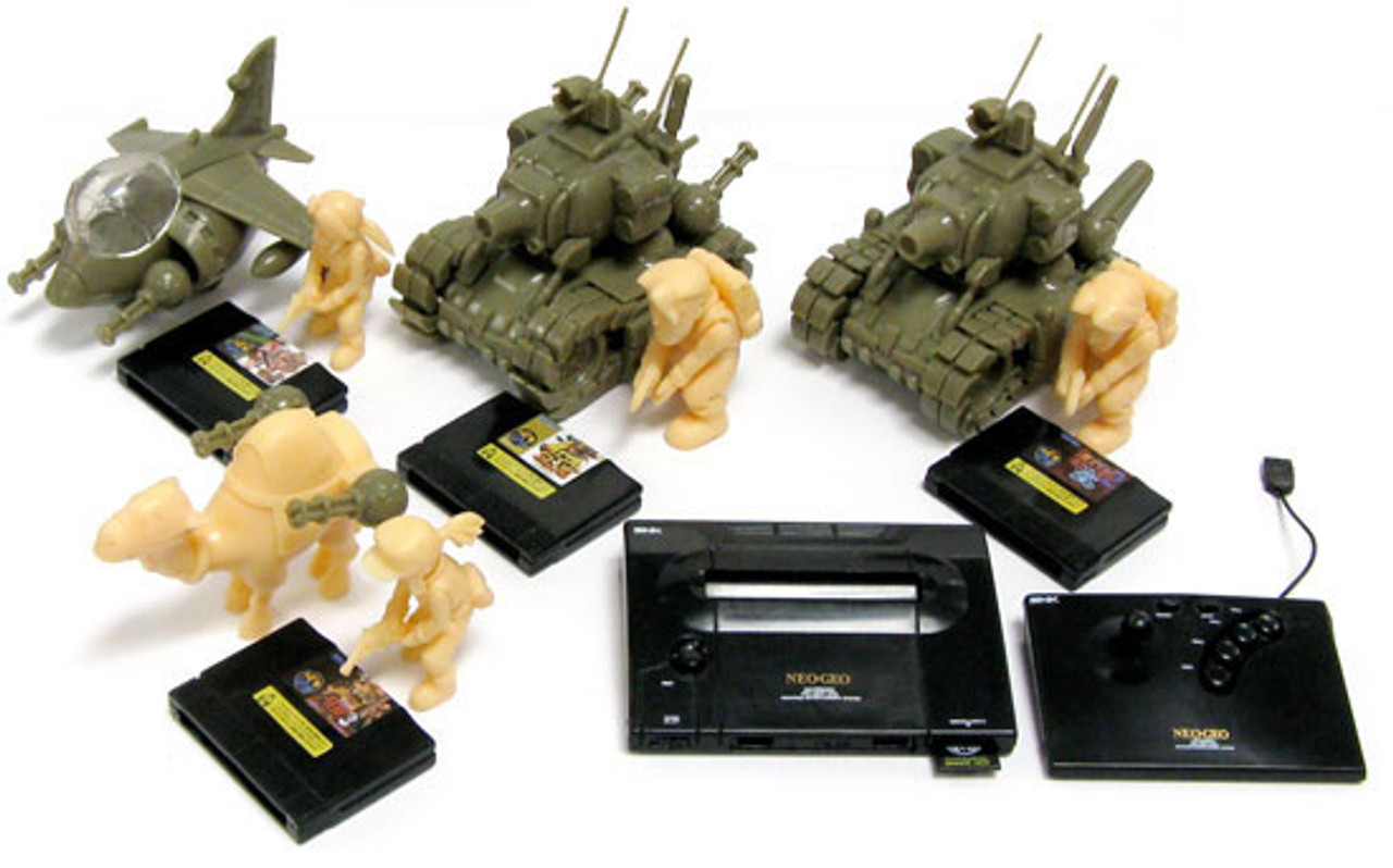 Metal Slug Neo Geo Set of 5 A.R.T.S. Gashapon Models