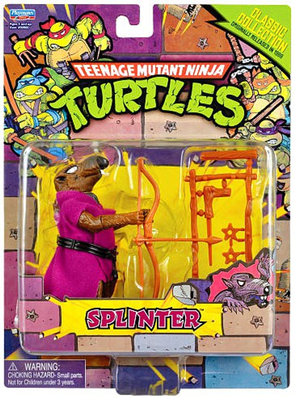 Teenage Mutant Ninja Turtles 1987 Retro Splinter Action Figure