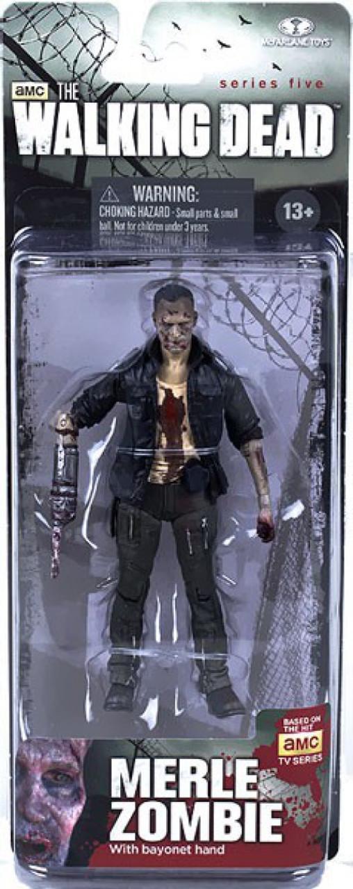 McFarlane Toys Walking Dead AMC TV Series 5 Merle Zombie Action Figure