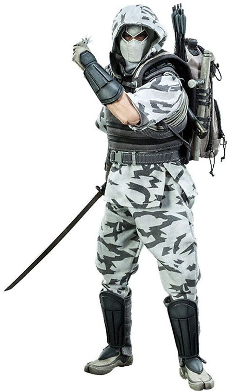 GI Joe Cobra Enemy Storm Shadow 1/6 Collectible Figure [Camo Version]