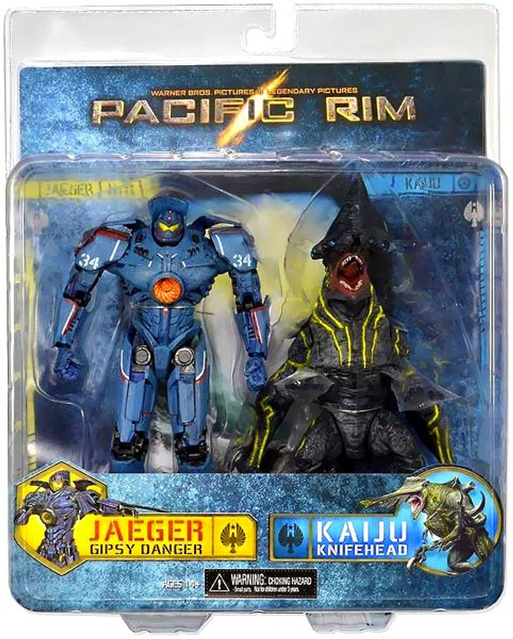 NECA Pacific Rim Gipsy Danger vs Knifehead Action Figure 2-Pack