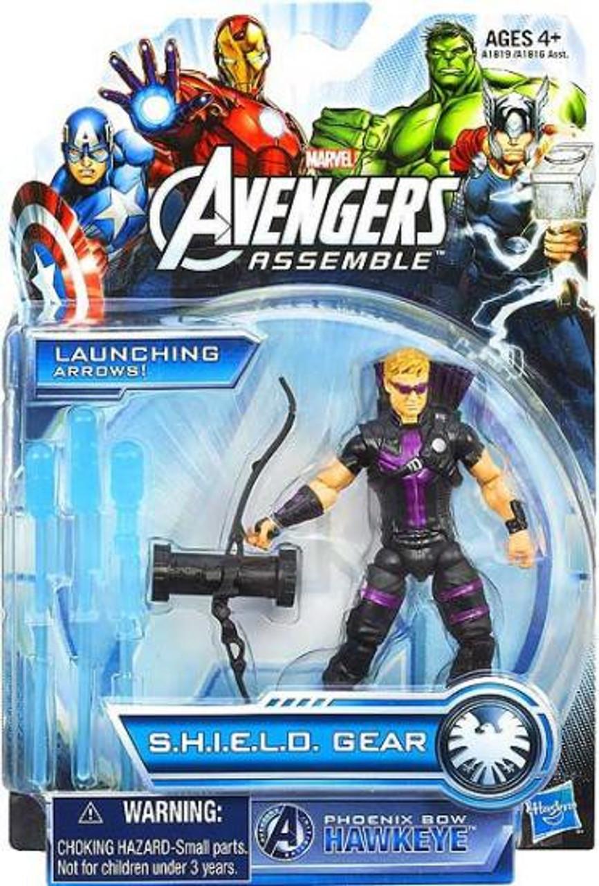 Marvel Avengers Assemble SHIELD Gear Phoenix Bow Hawkeye Action Figure