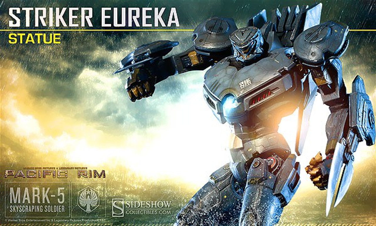 Pacific Rim Striker Eureka Statue