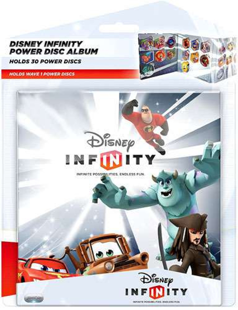 Disney Infinity Exclusive Power Disc Album