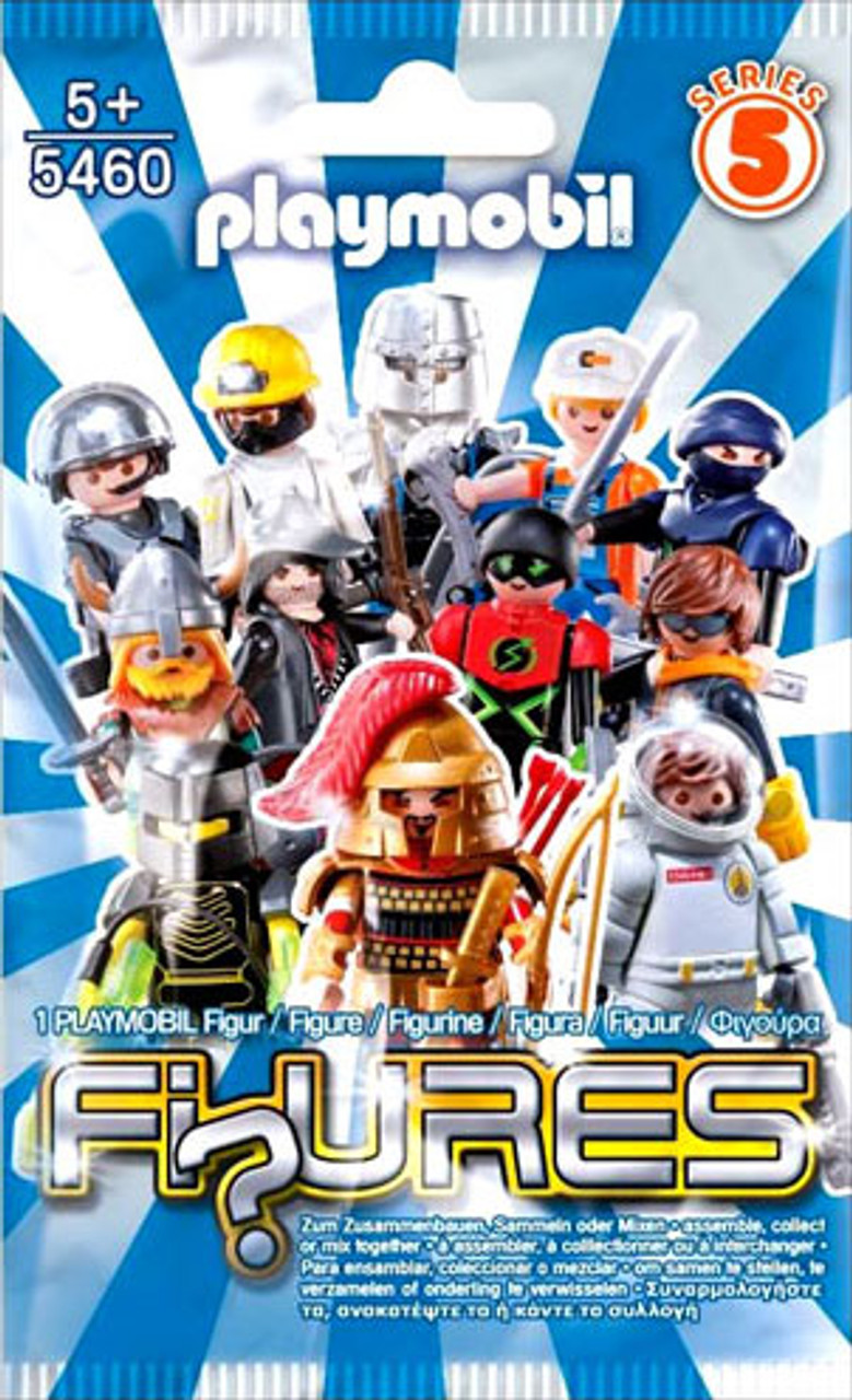 Playmobil Figures Series 5 Blue Mystery Pack