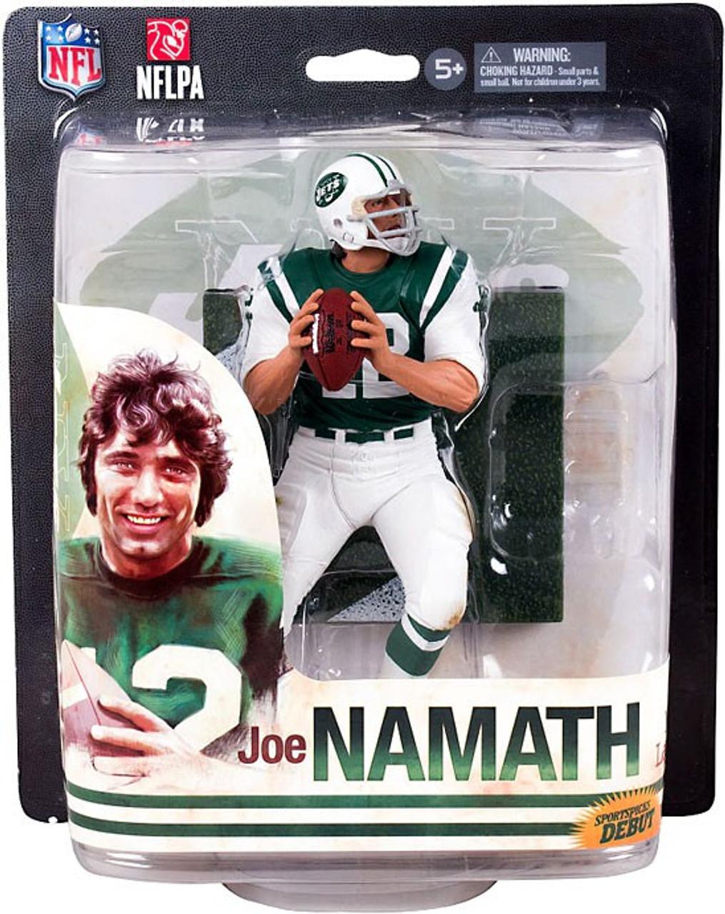 McFarlane Toys NFL New York Jets Sports Picks 2014 Joe Namath Action Figure