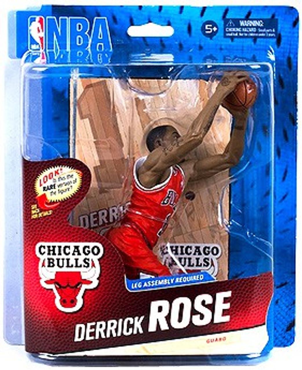 McFarlane Toys NBA Chicago Bulls Sports Picks Series 24 Derrick Rose Action Figure [Red Jersey]