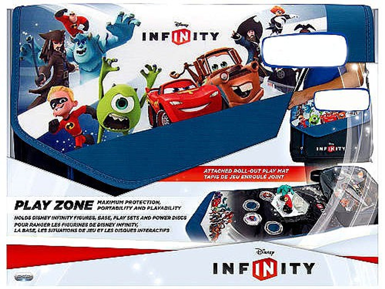 Disney Infinity Play Zone Exclusive Carry Case Pdp Toywiz