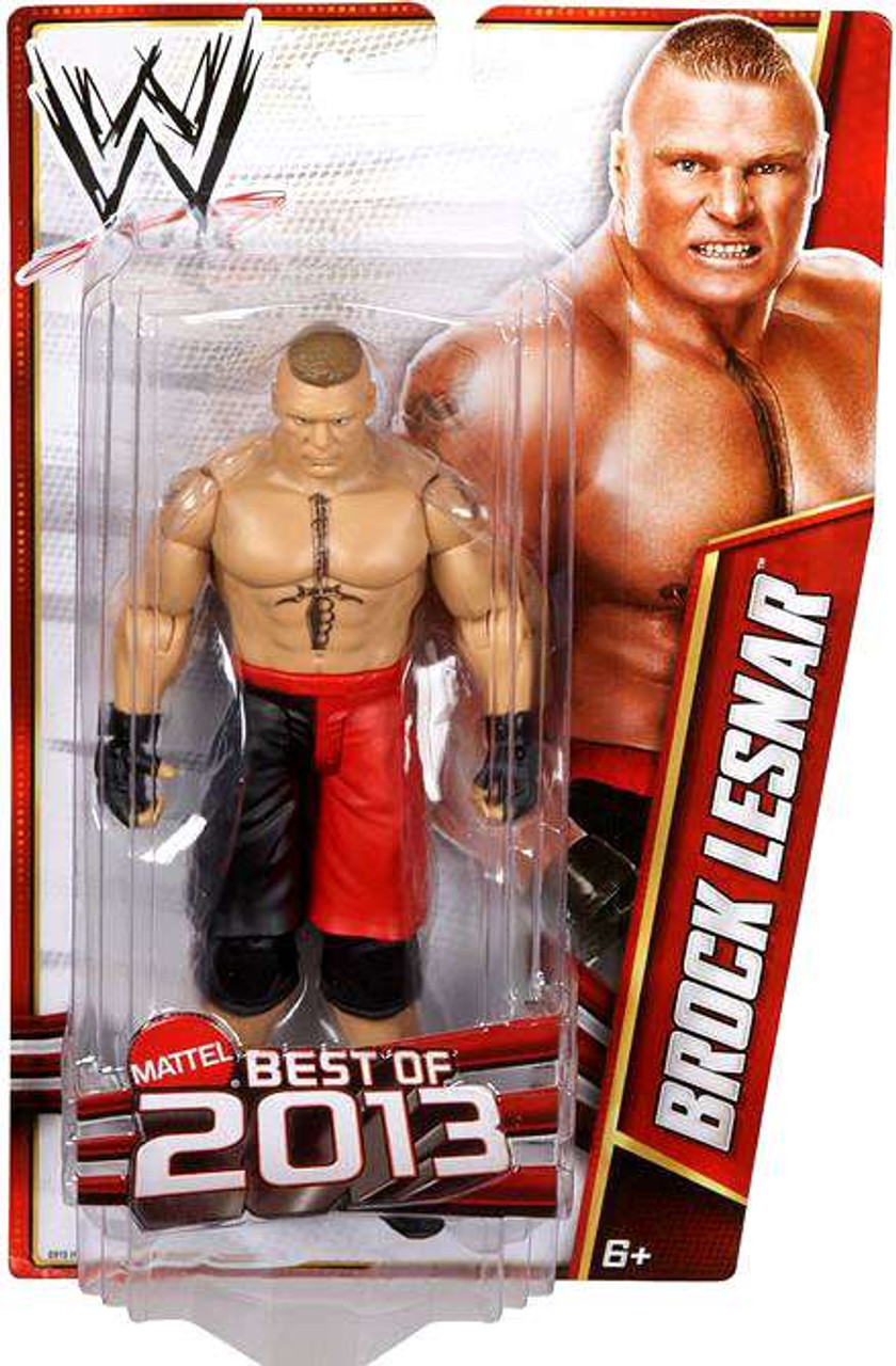WWE Wrestling Best of 2013 Brock Lensar Action Figure