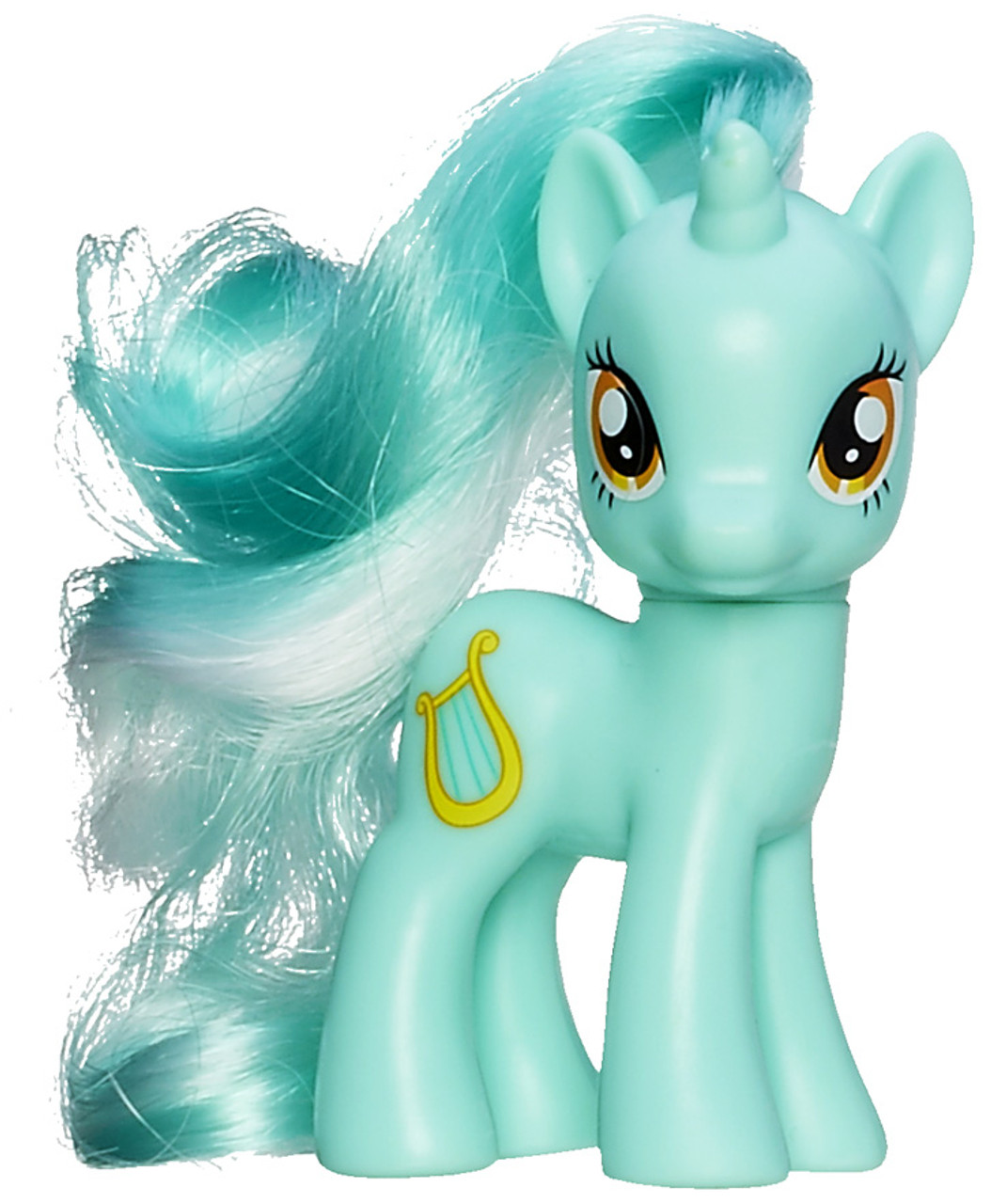 My Little Pony Lyra Heartstrings 3.5-Inch Collectible Figure [Loose]