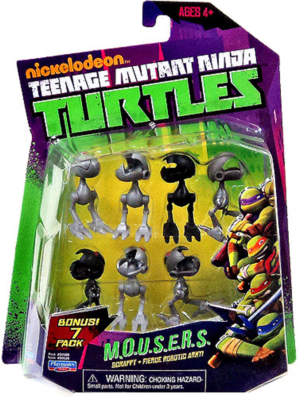 Teenage Mutant Ninja Turtles Nickelodeon MOUSERS Action Figure Set
