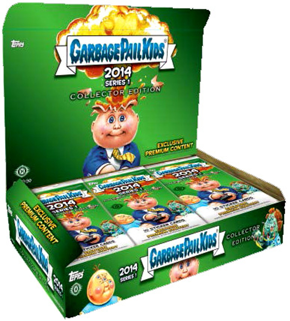 Garbage Pail Kids 2014 Series 1 Collector's Edition Box