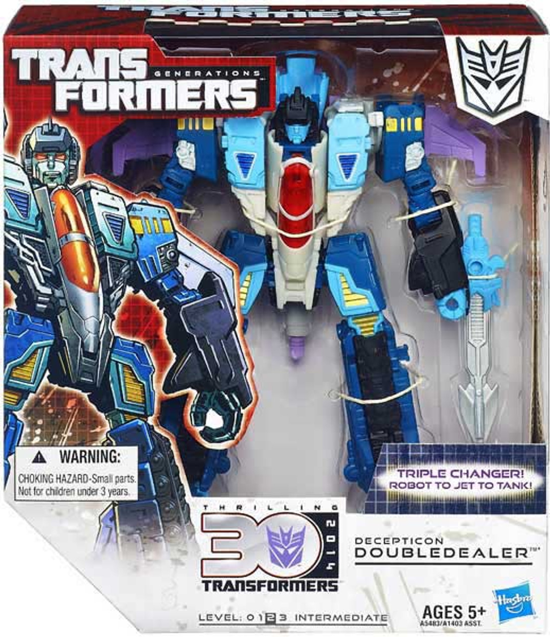 Transformers Generations 30th Anniversary Doubledealer Voyager Action Figure