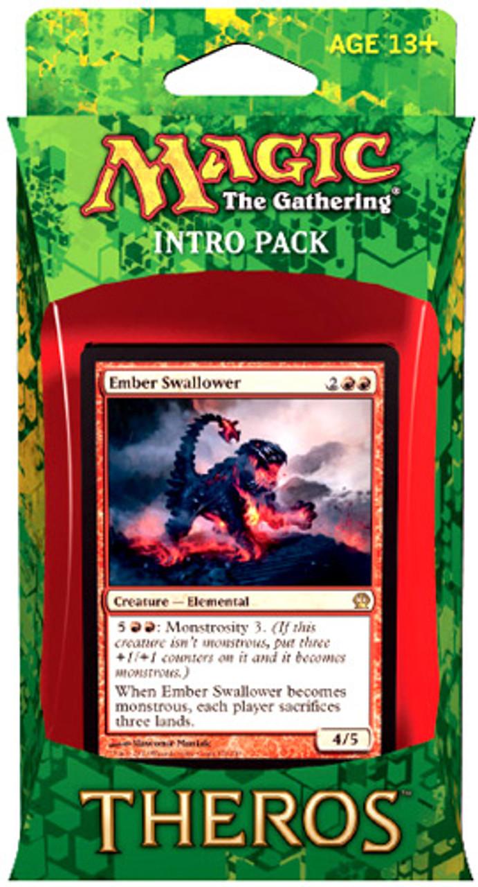 MtG Theros Blazing Beasts of Myth Intro Pack