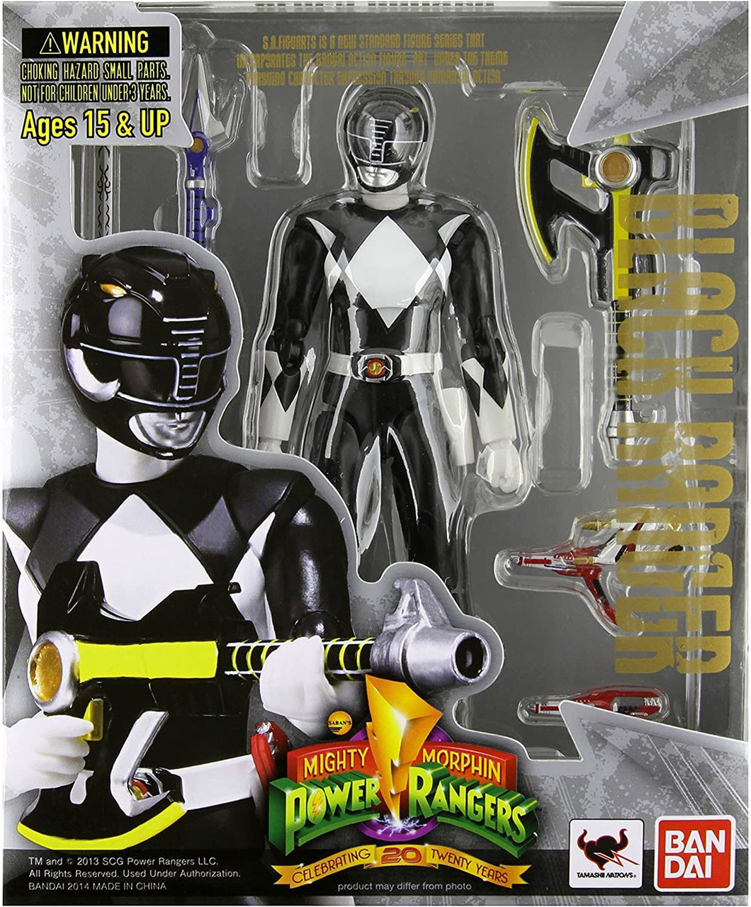 Power Rangers Mighty Morphin S.H. Figuarts Black Ranger Action Figure