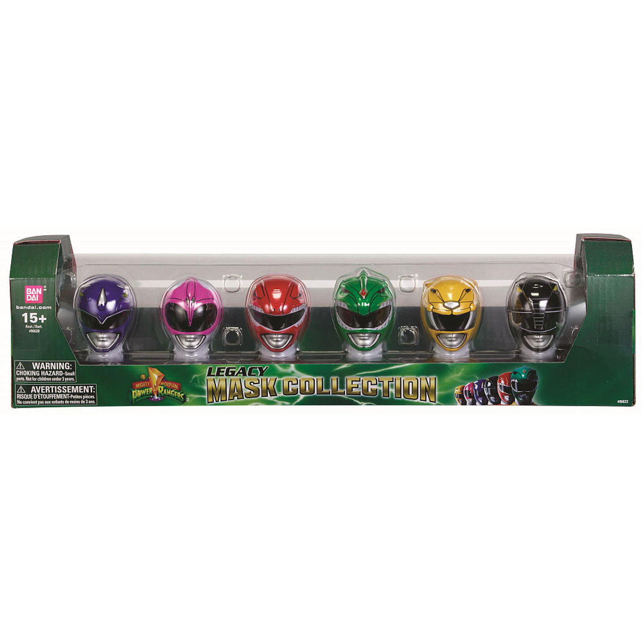 Power Rangers Mighty Morphin Legacy Mask Collection Exclusive 4-Inch