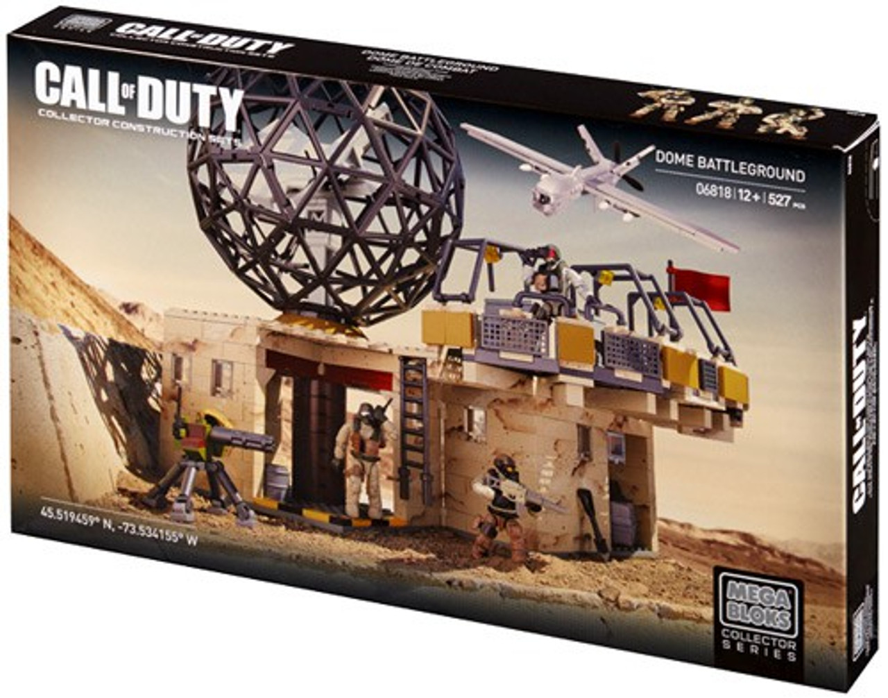 Mega Bloks Call of Duty Dome Battleground Set #06818