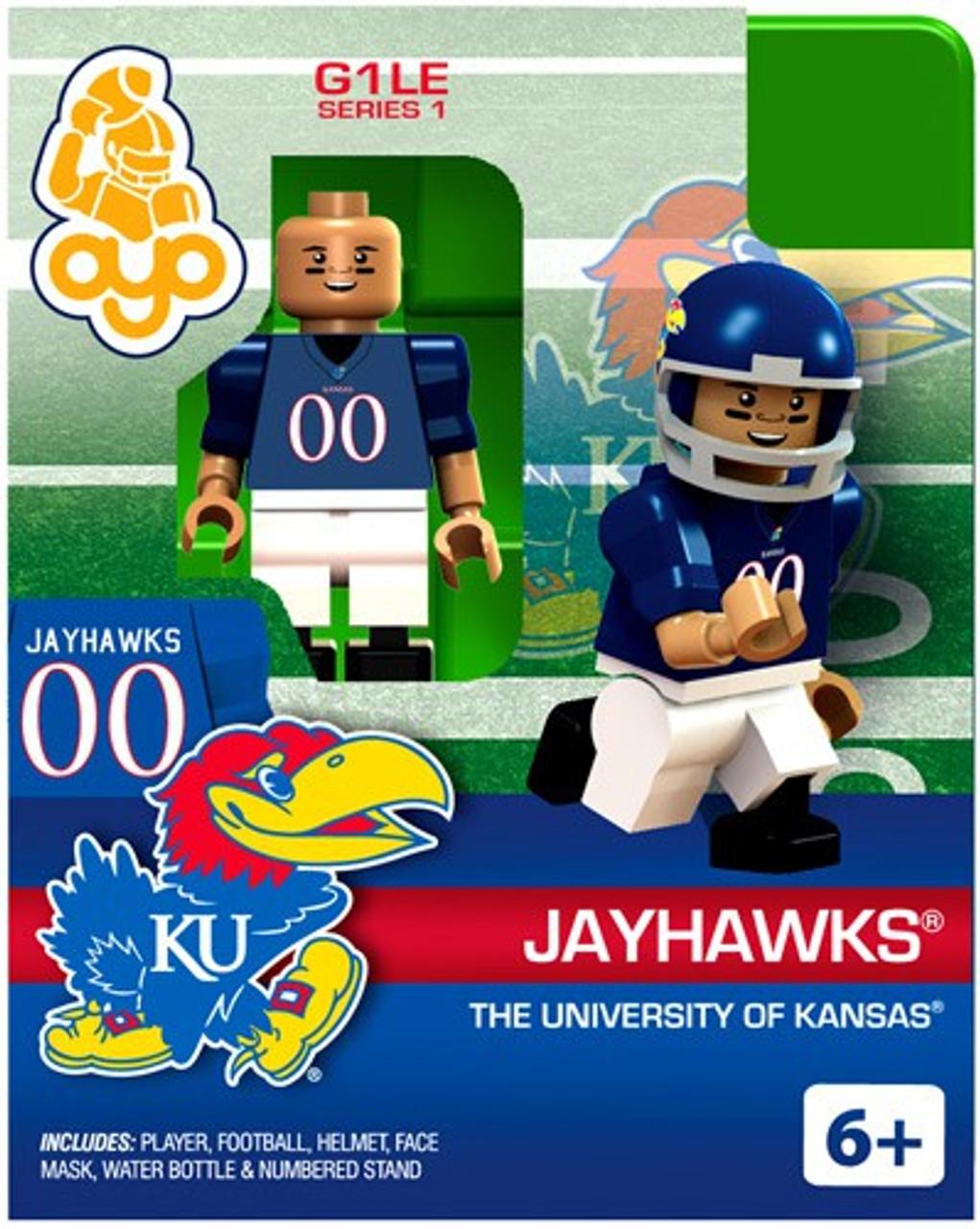 University of Kansas Jayhawks NCAA Generation 1 Series 1 Jayhawks Minifigure