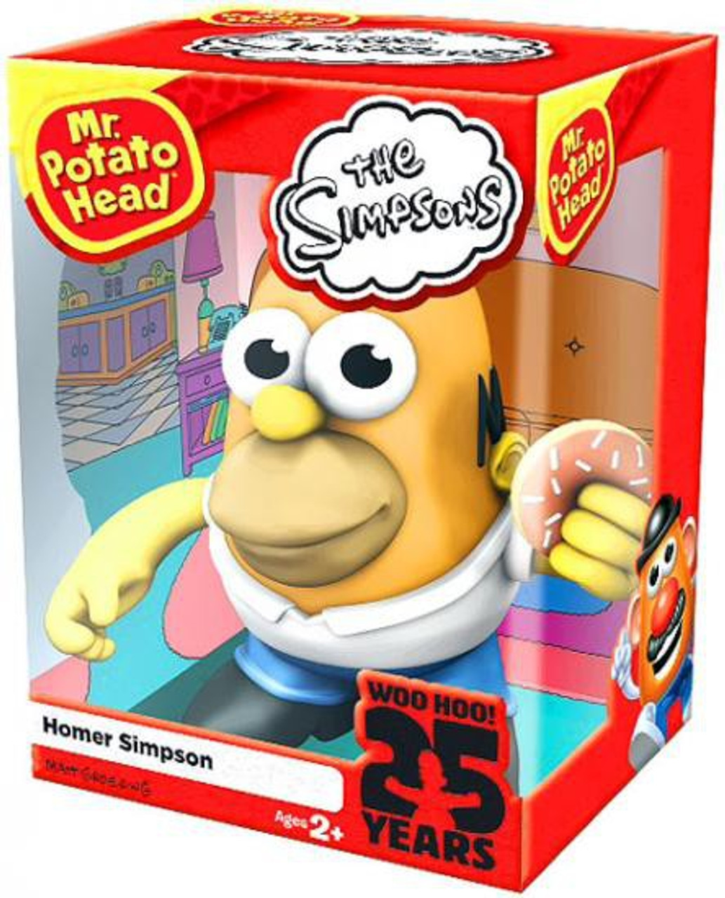The Simpsons Homer Simpson Mr. Potato Head