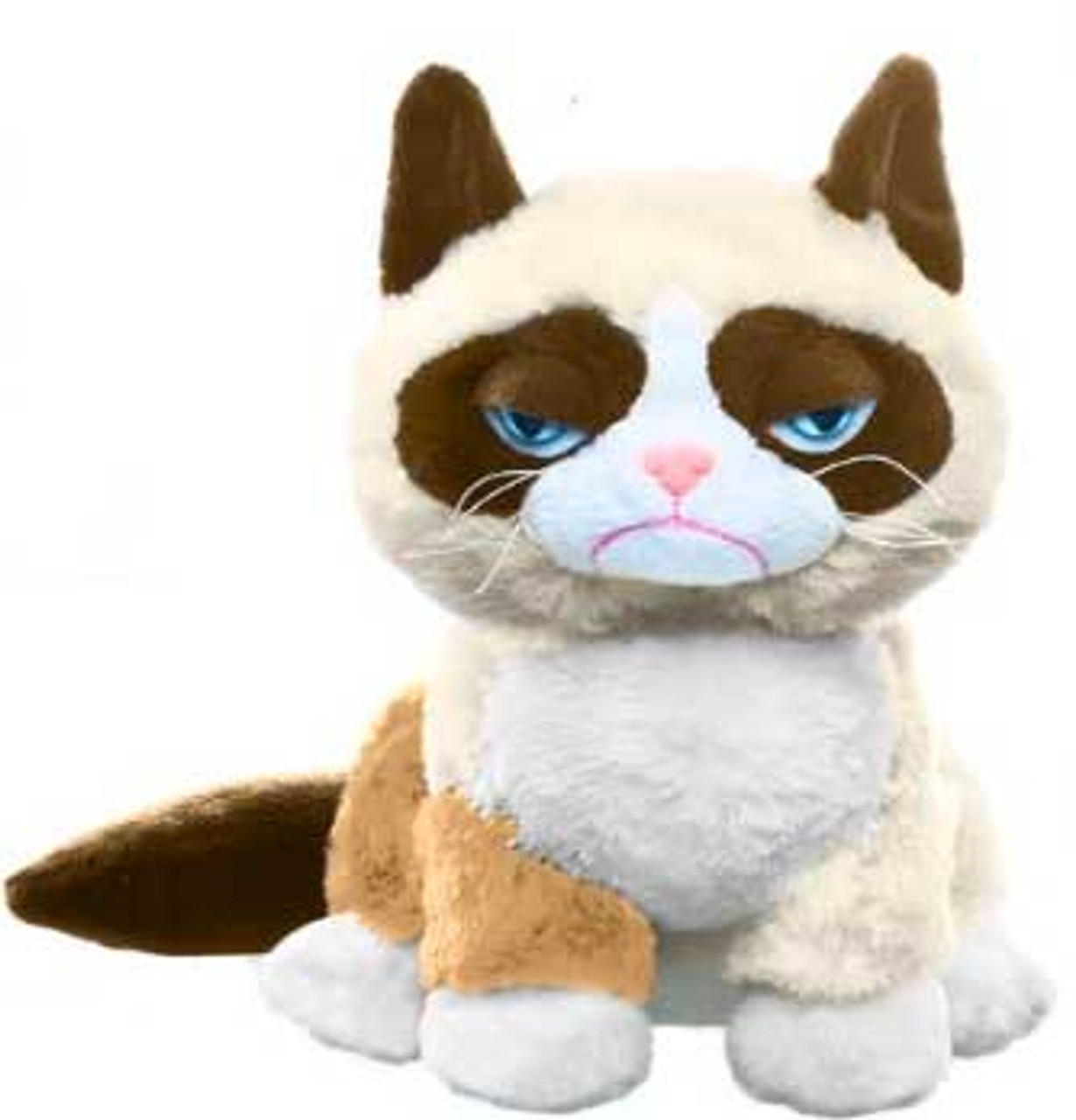 Grumpy Cat 8-Inch Plush [Sitting Up]