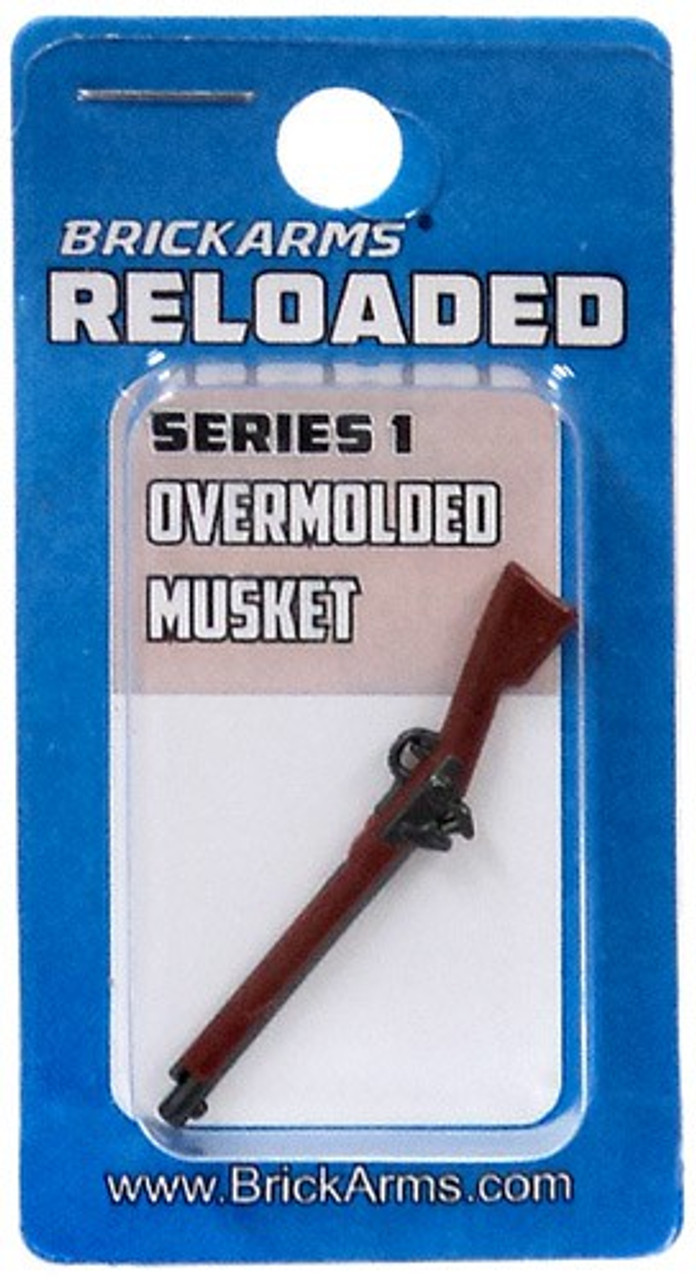 BrickArms Reloaded Series 1 Weapons Musket 2.5-Inch [Overmolded] [New Sealed]