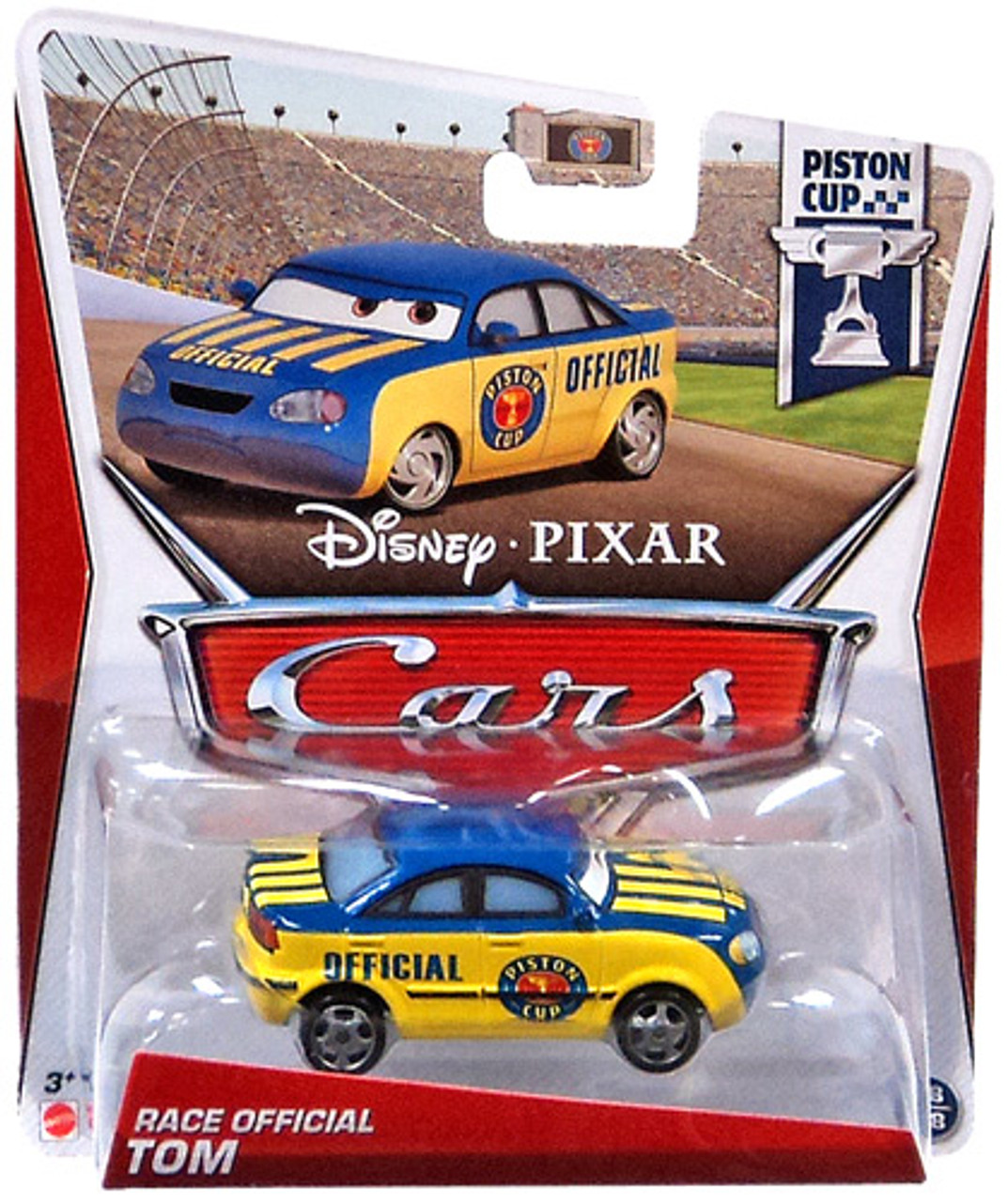 Disney Cars Series 3 Race Official Tom Diecast Car