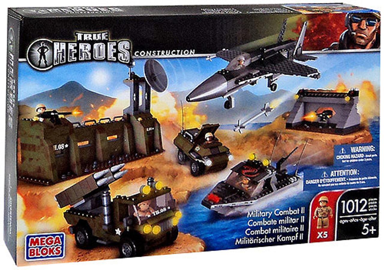 Mega Bloks True Heroes Construction Military Combat II Set