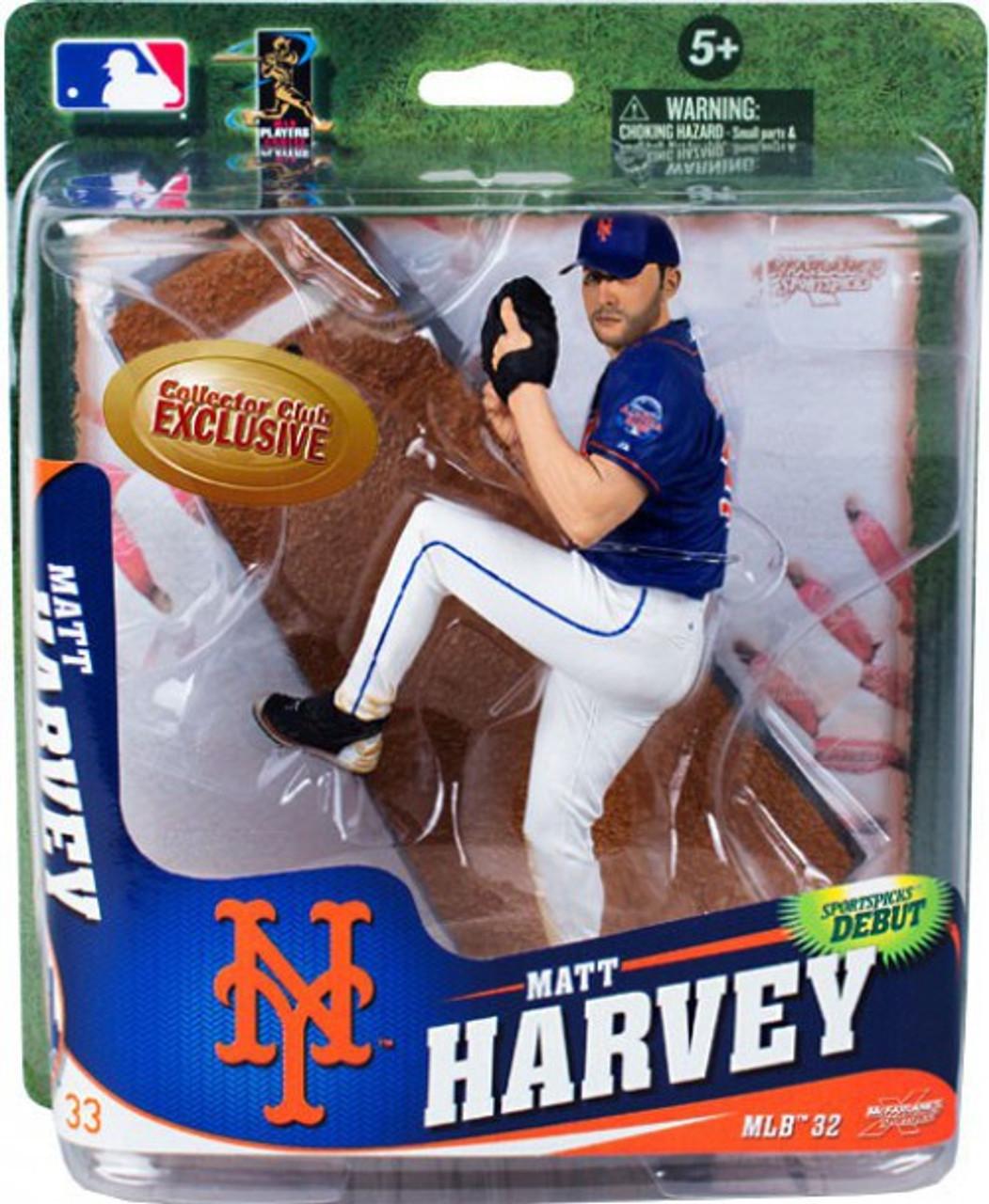 McFarlane Toys MLB New York Mets Sports Picks Series 32 Matt Harvey Exclusive Action Figure