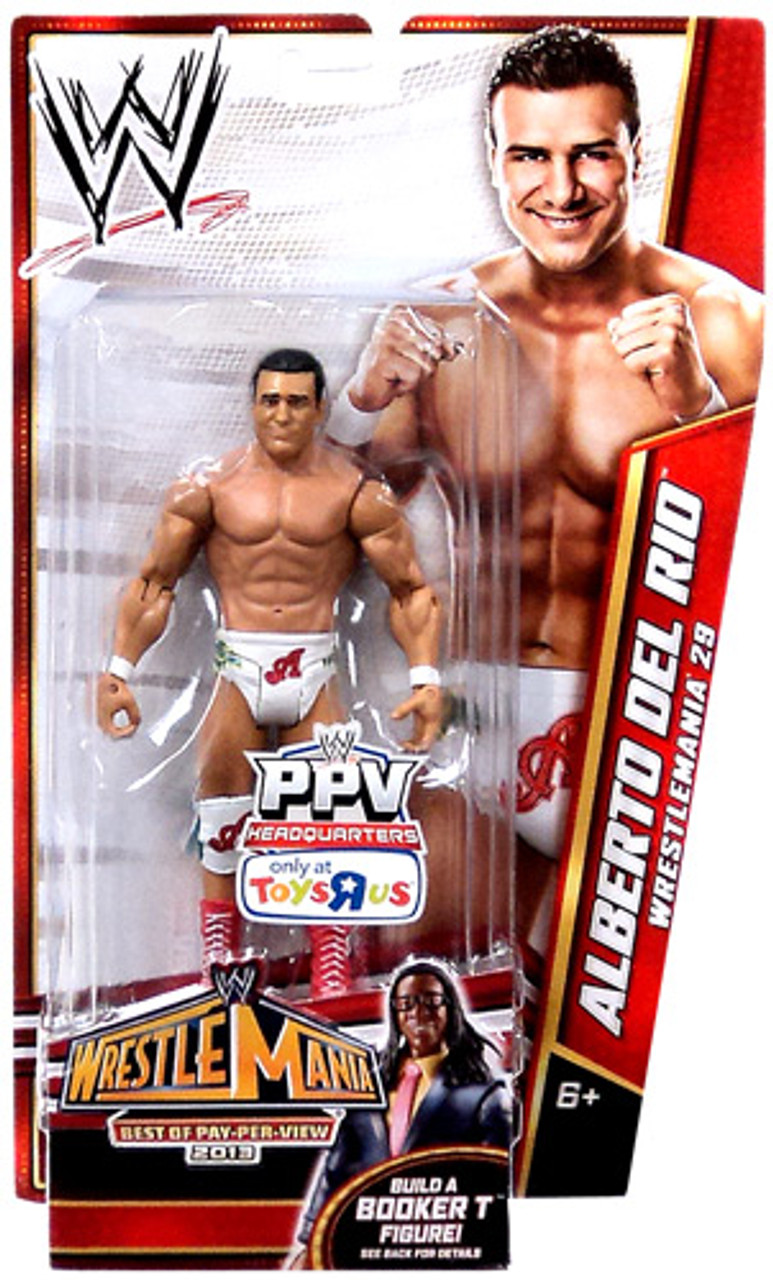 WWE Wrestling Best of PPV 2013 Alberto Del Rio Exclusive Action Figure