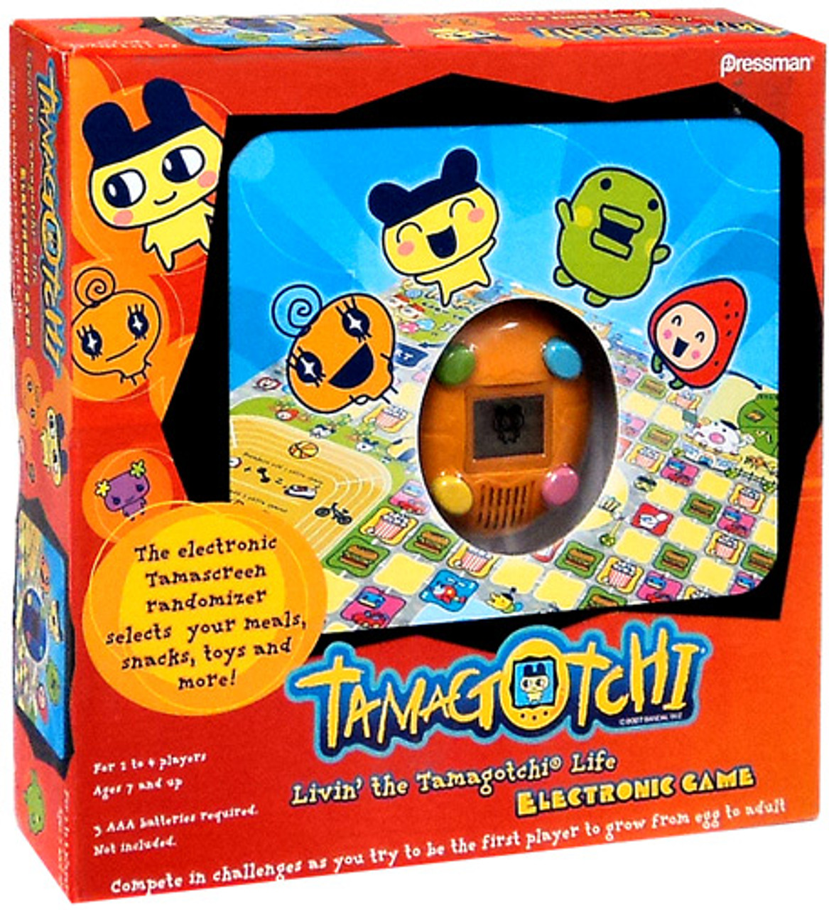 Electronic Livin' the Tamagotchi Life Board Game