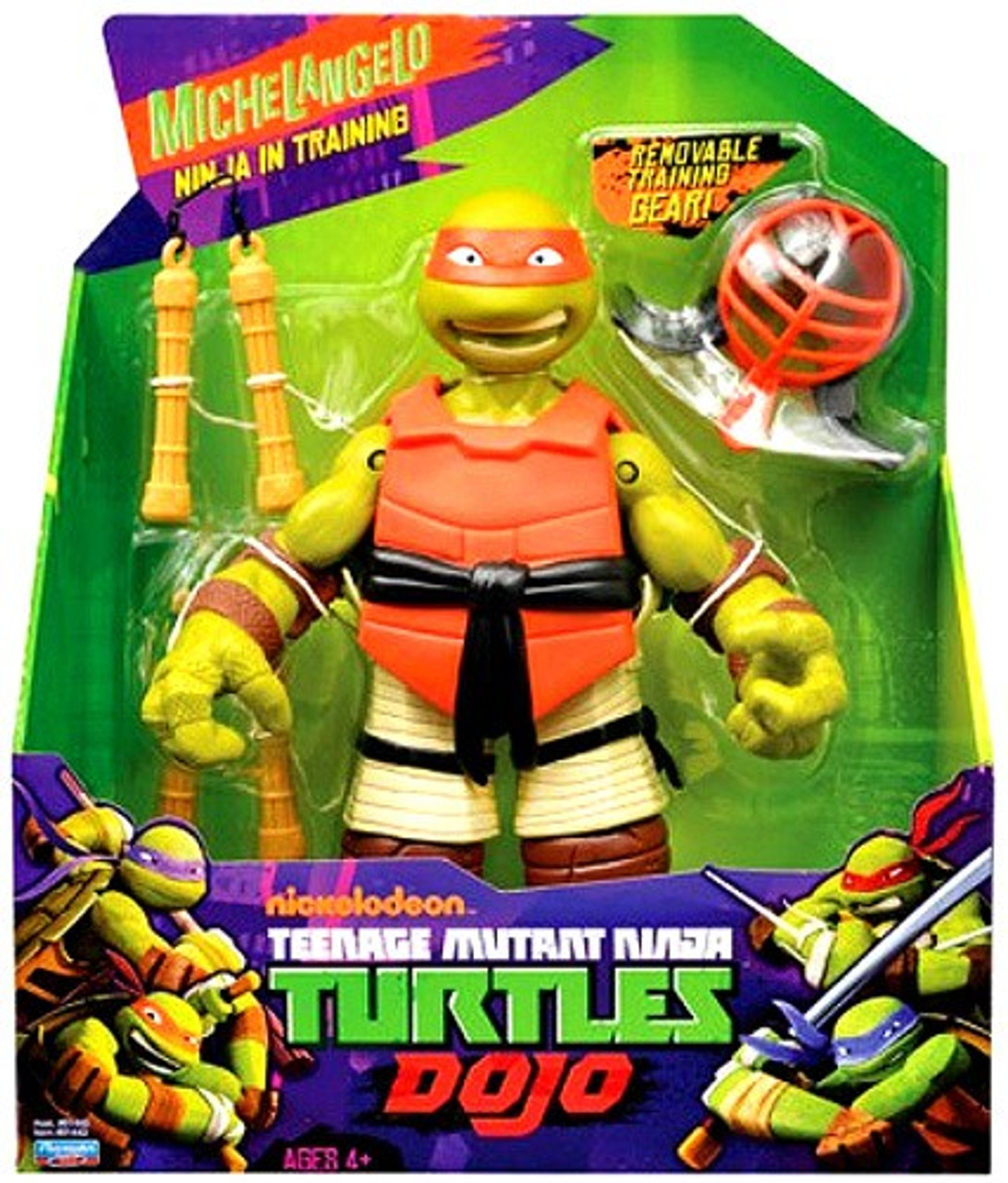 Teenage Mutant Ninja Turtles Nickelodeon Dojo Michelangelo Action Figure
