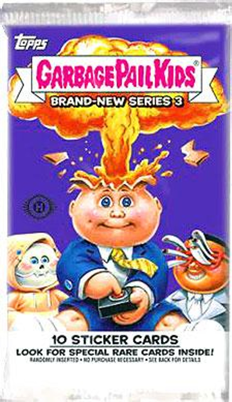 Garbage Pail Kids 2013 Brand New Series 3 Trading Card Sticker Pack