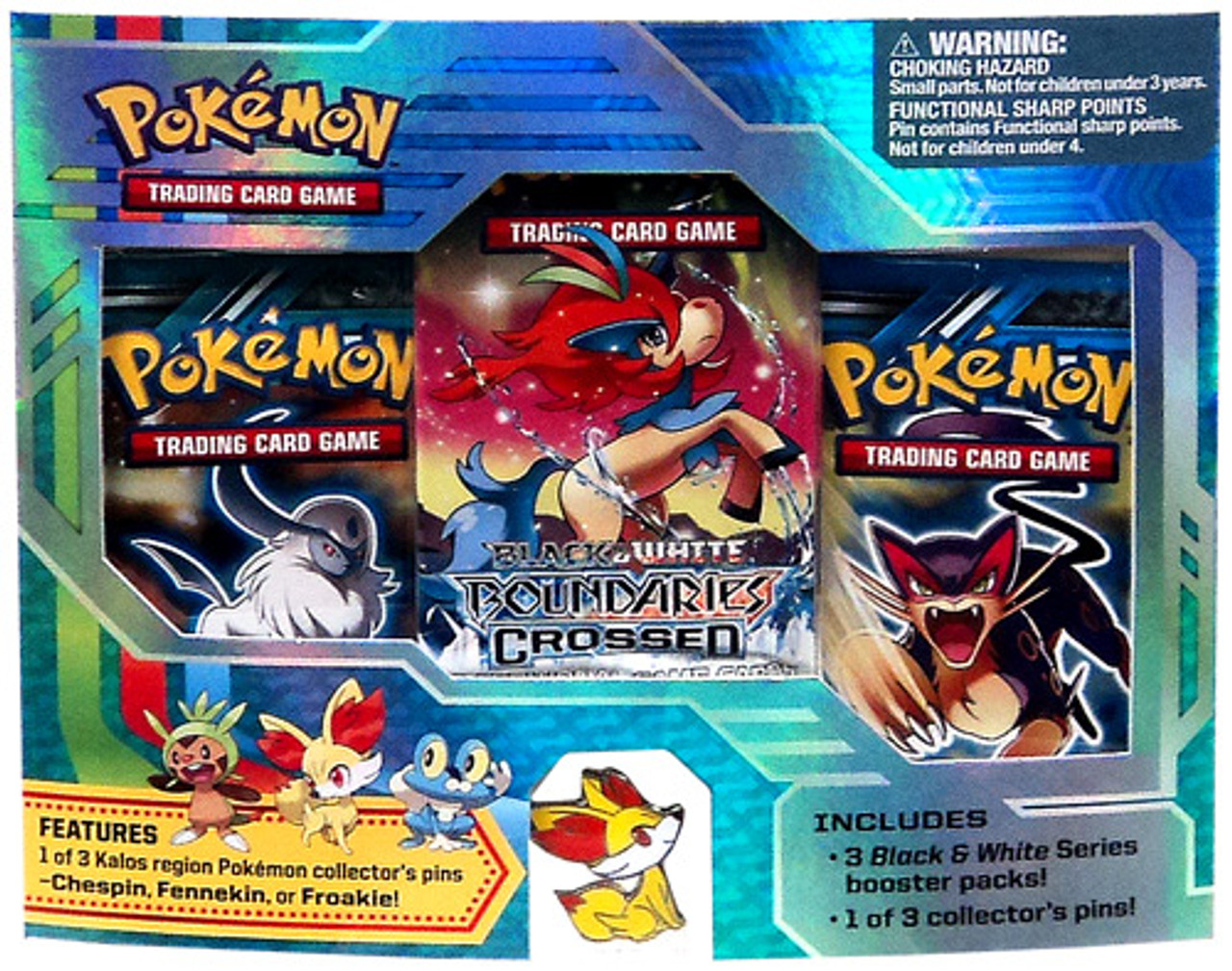Pokemon Black & White Fennekin Pin Pack