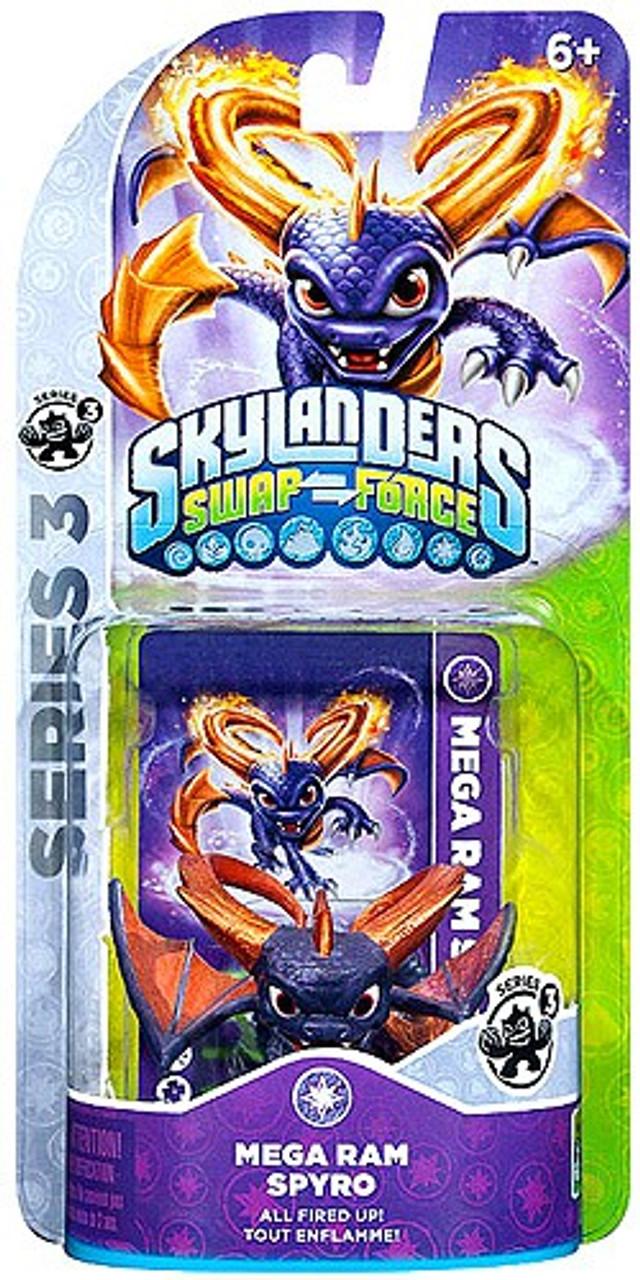 Skylanders Swap Force Series 3 Spyro Figure Pack [Mega Ram]