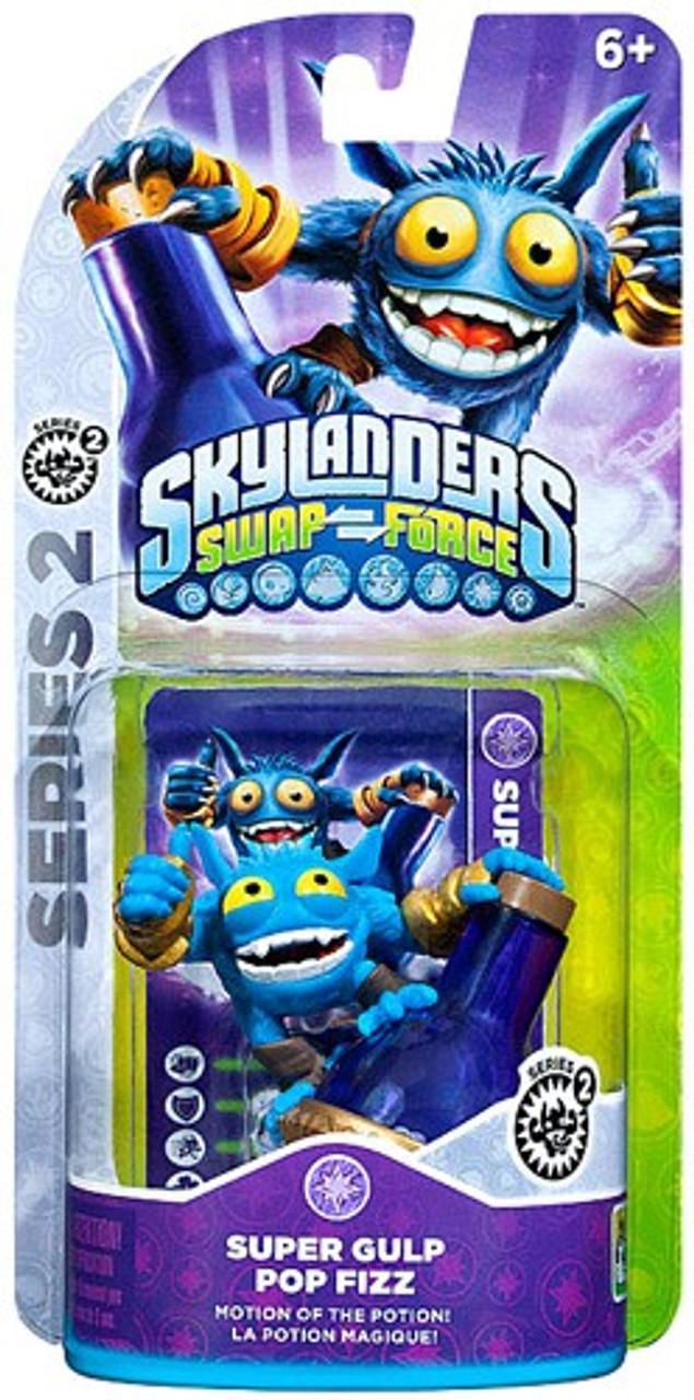 Skylanders Swap Force Series 2 Super Gulp Pop Fizz Figure Pack