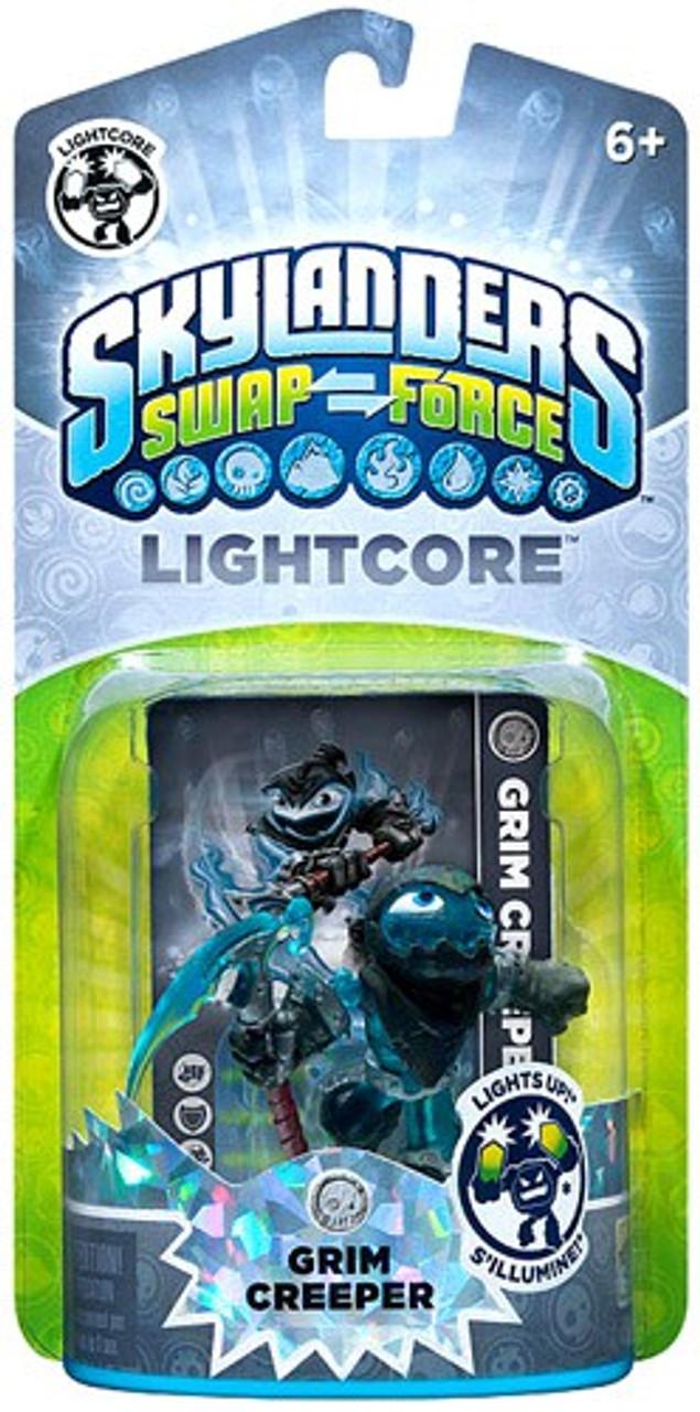 Skylanders Swap Force Lightcore Grim Creeper Figure Pack