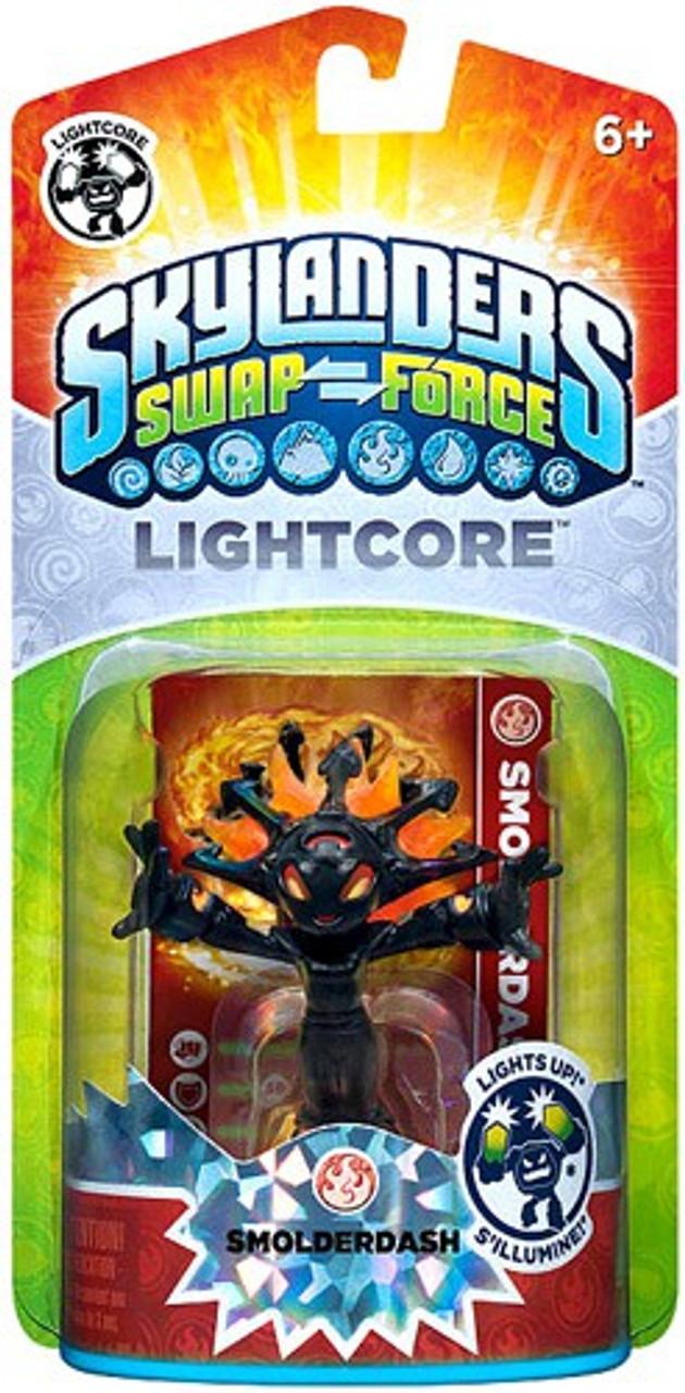 Skylanders Swap Force Lightcore Smolderdash Figure Pack
