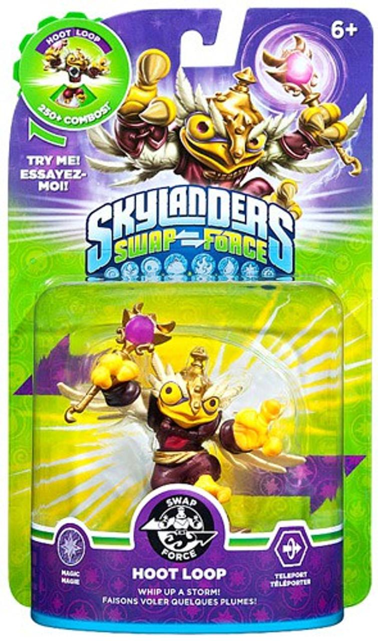 Skylanders Swap Force Swappable Hoot Loop Figure Pack