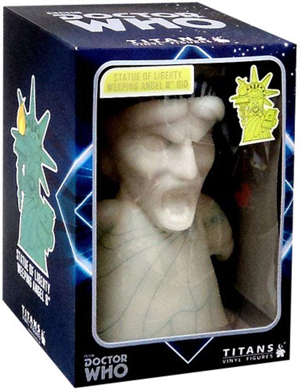 Doctor Who Weeping Angel Exclusive 8-Inch Vinyl Figure [Statue of Liberty]