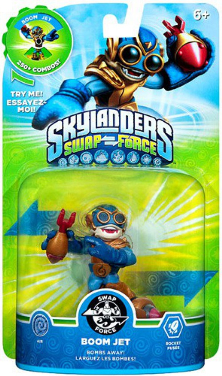 Skylanders Swap Force Swappable Boom Jet Figure Pack