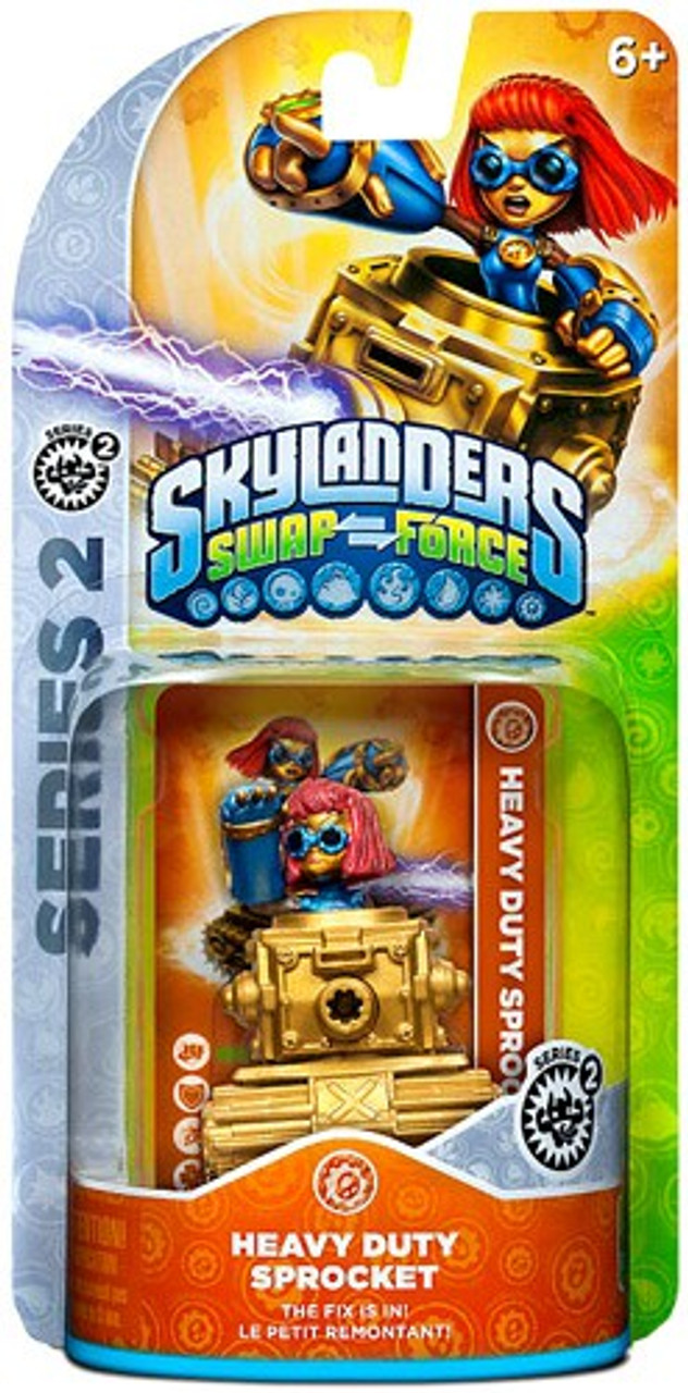 Skylanders Swap Force Series 2 Sprocket Figure Pack [Heavy Duty]