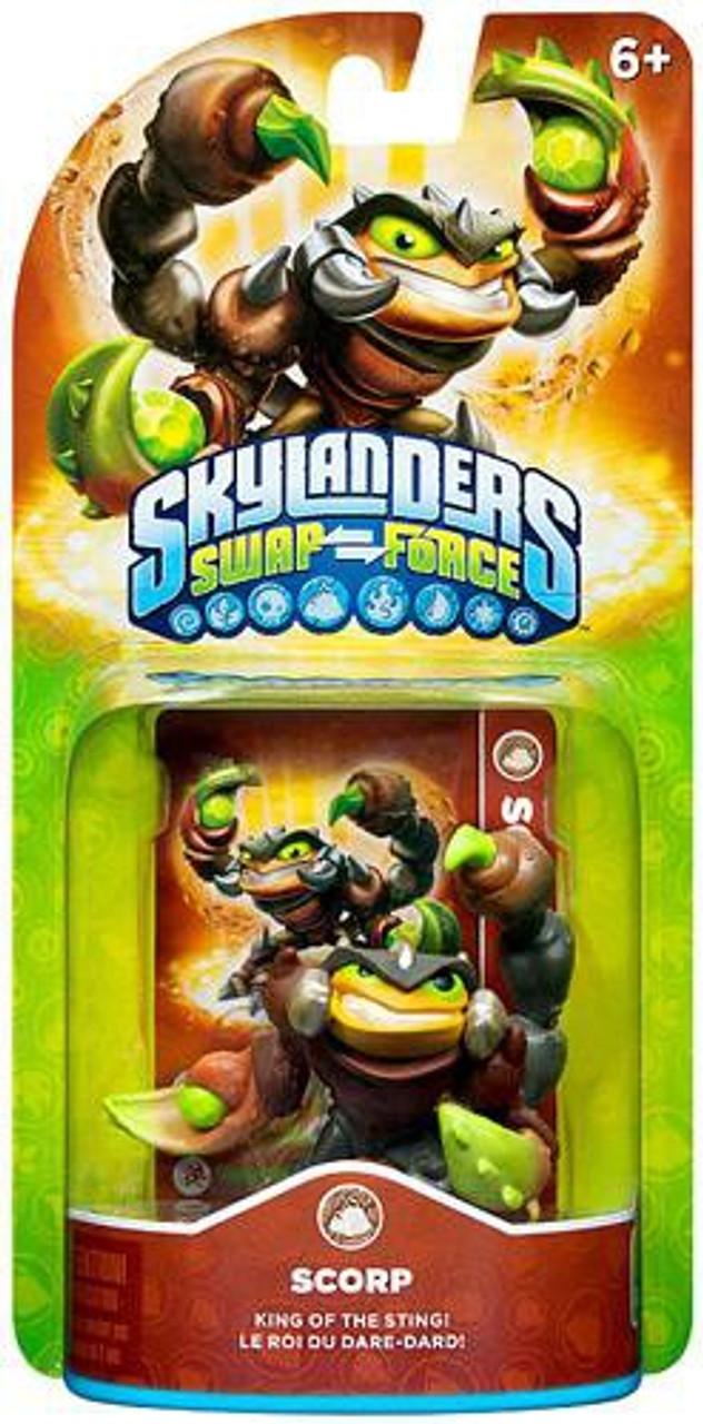Skylanders Swap Force Scorp Figure Pack