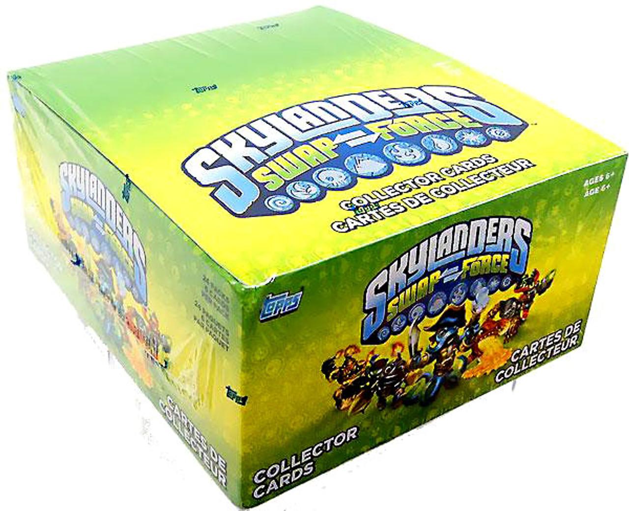 Skylanders Swap Force Trading Card Box