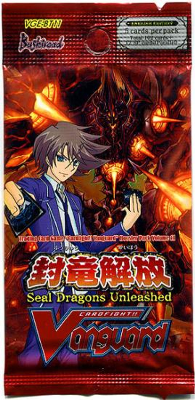Cardfight Vanguard Seal Dragons Unleashed Booster Pack VGE-BT11