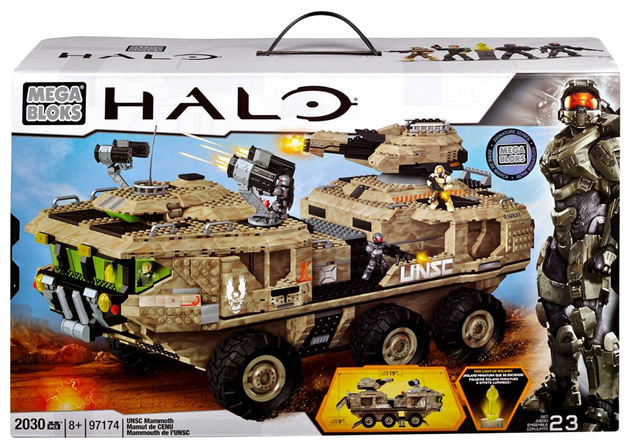 Mega Bloks Halo UNSC Mammoth Exclusive Set #97174