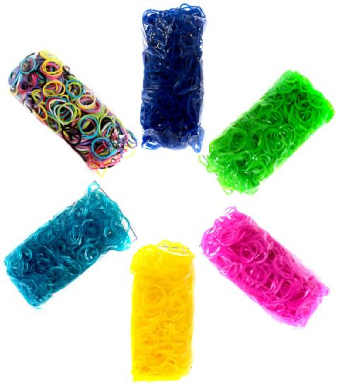Rainbow Loom Random Colors Rubber Bands Refill Pack [3600 ct]