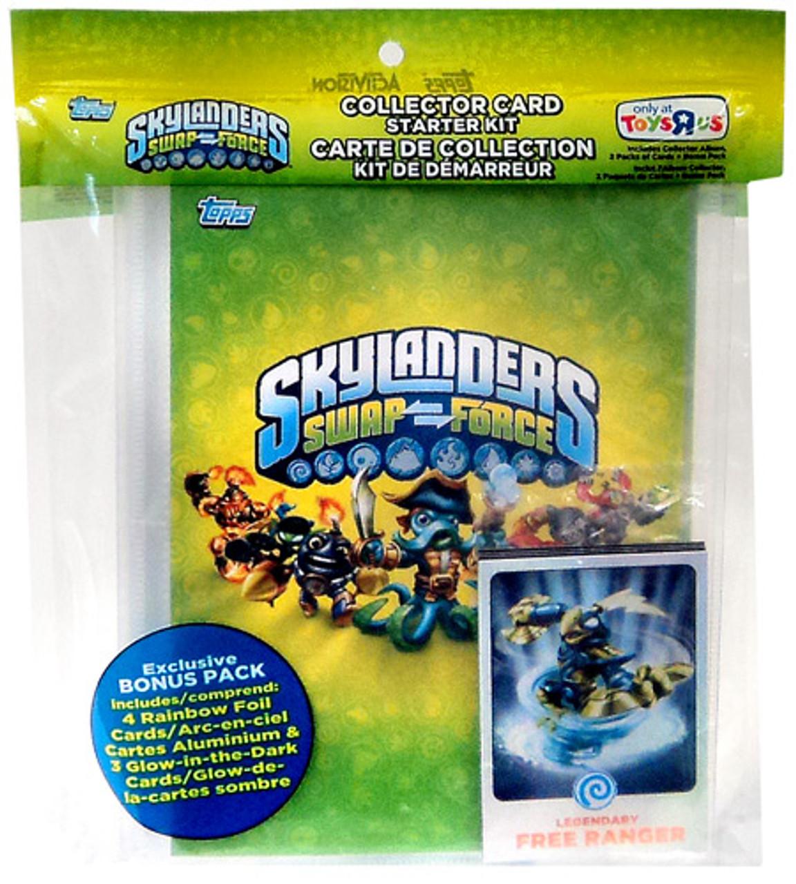 Skylanders Swap Force Trading Card Starter Kit