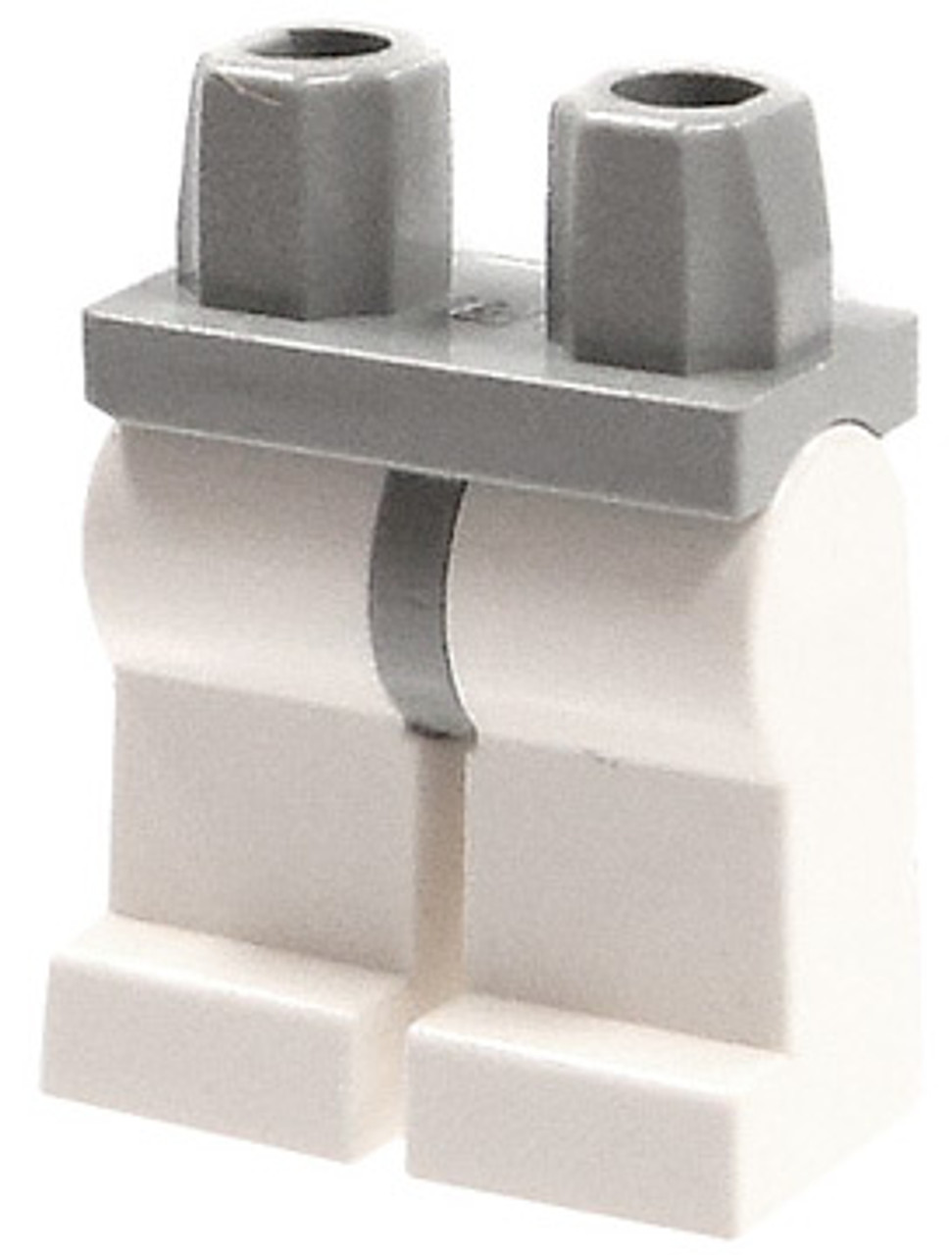 LEGO Star Wars Gray Hips & White Legs Loose Legs [Loose]