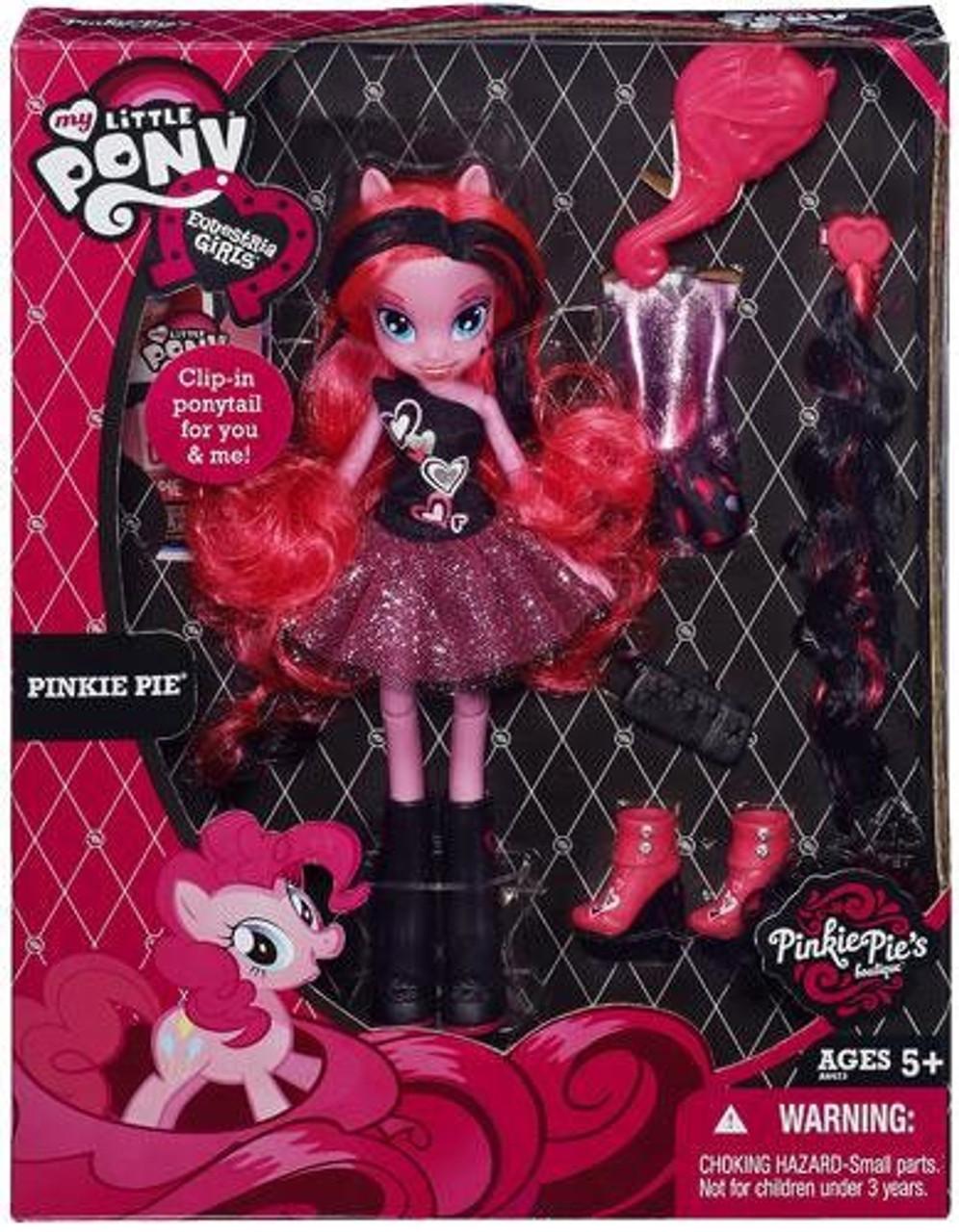 My Little Pony Equestria Girls Pinkie Pie's Boutique Pinkie Pie Exclusive 9-Inch Doll