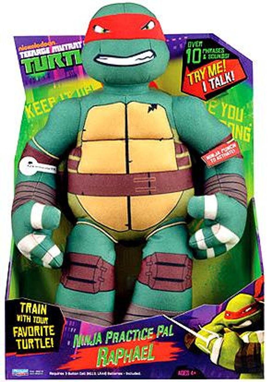 Teenage Mutant Ninja Turtles Nickelodeon Ninja Practice Pal Raphael 15-Inch Plush